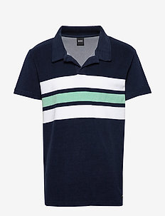Beach Polo Shirt - kortærmede - navy