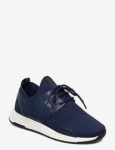Titanium_Runn_knit - lave sneakers - dark blue