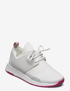 Titanium_Runn_knit - lave sneakers - white