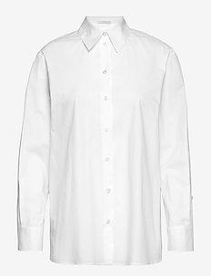 Basha - langærmede skjorter - white
