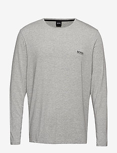 Comfort LS-Shirt RN - MEDIUM GREY