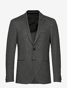 Norwin4-J - enkeltradede blazere - open grey