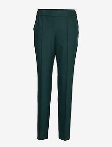 Tahwani - bukser med lige ben - dark green