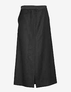 Venalyn - midi skjørt - black