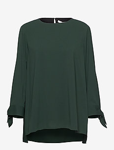 Balamy - langærmede bluser - dark green