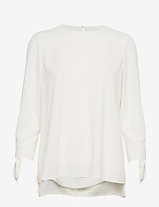 Balamy - langærmede bluser - open white