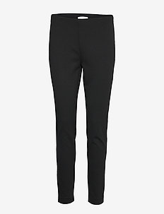 Telestana - bukser med lige ben - black