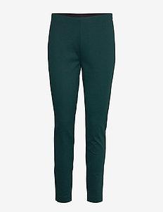 Telestana - bukser med lige ben - dark green