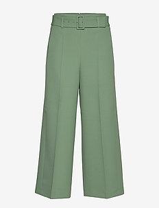 Trima1 - bukser med brede ben - light/pastel green