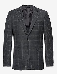 Janson7 - enkeltradede blazere - open grey