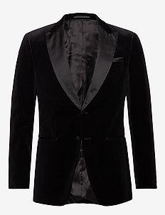Helward4_1 - enkeltradede jakkesæt - black