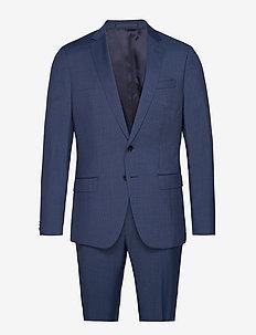 Huge6/Genius5 - enkeltradede jakkesæt - dark blue