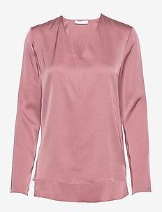 Ivala - langærmede bluser - light/pastel pink