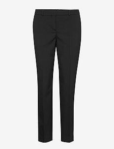 Tiluna11 - bukser med lige ben - black