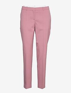 Tiluna11 - bukser med lige ben - light/pastel pink