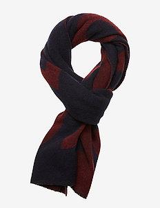 Alvaro - tørklæder - dark blue