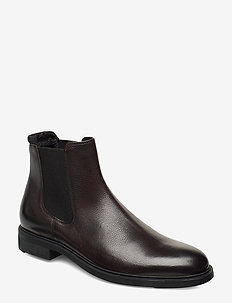 Firstclass_Cheb_gr - chelsea boots - dark brown