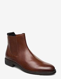 Firstclass_Cheb_gr - chelsea boots - medium brown