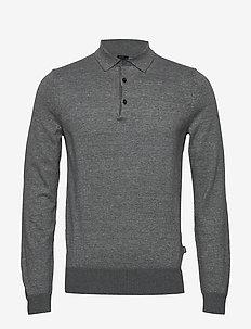 Ostini - langærmede - medium grey