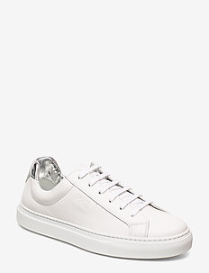 Katie Low Cut-Mix - sneakers med lav ankel - white
