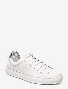 Katie Low Cut-Mix - låga sneakers - white