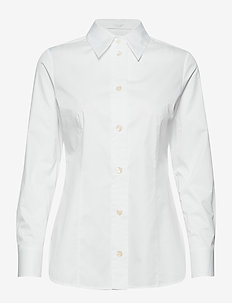 Bavidbo - langærmede skjorter - white