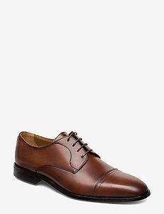 Lisbon_Derb_buct - snøresko - medium brown
