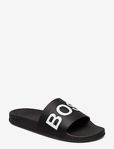 Bay_Slid_rblg - pool-sandalen - black