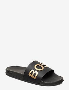 Bay_Slid_rblg - pool sliders - black