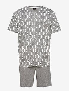 Relax Short Set - pyjamas - medium grey