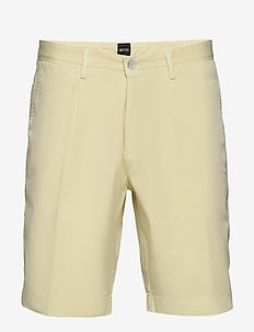 Slice-Shorts-P-S - tailored shorts - light/pastel yellow