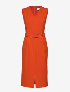 Dadorina - midi kjoler - bright orange