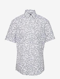 Luka_F - kortærmede skjorter - dark blue