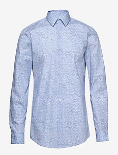 Isko - business skjorter - medium blue
