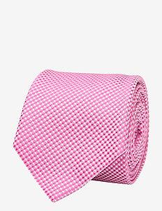 Tie 6 cm - slips - bright pink