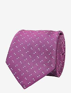Tie 6 cm - slips - medium pink