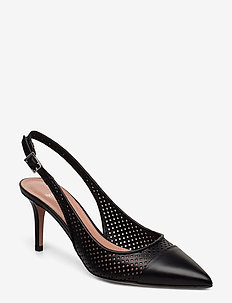 Eddie Sling 70-Perf - sling backs - black