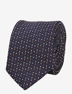 Tie 6 cm traveller - slips - bright orange
