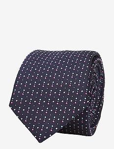Tie 6 cm traveller - solmiot - dark purple