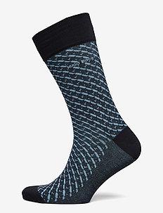 RS Minipattern MC - regulære sokker - dark blue