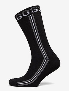 QS Rib Tape CC - regulære sokker - black