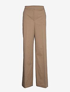Tadriesa - bukser med lige ben - medium beige