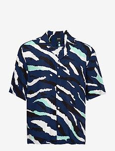 Lello - kortærmede skjorter - dark blue