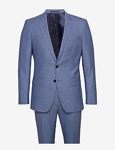 Huge6/Genius5 - enkeltradede jakkesæt - turquoise/aqua