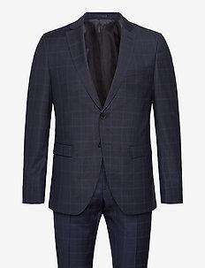 Reymond/Wenten - enkeltradede jakkesæt - dark blue