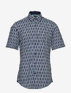 Luka_2F - kortærmede skjorter - dark blue