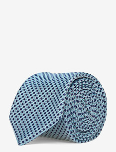 Tie 6 cm - slips - light/pastel blue