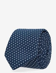 Tie 6 cm - slips - open blue