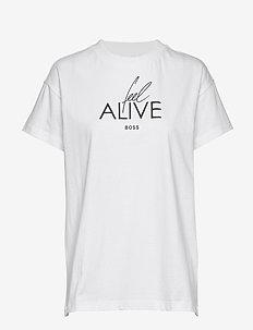 Ecurata_FA - t-shirts med tryk - white