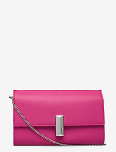 Nathalie CH Wallet-A - clutches - bright pink
